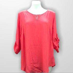 TORRID Pullover Rayon Blouse Size 2